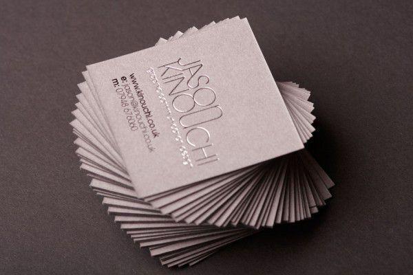 Mini name card ép kim ấn tượng