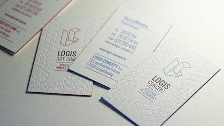 Mẫu name card thách thức công nghệ in ấn hiện tại