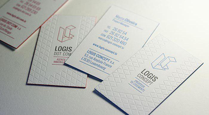In name card thách thức, độc đáo
