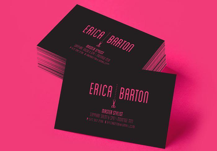 In name card phủ viền - name card thách thức công nghệ
