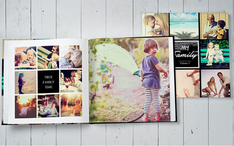 Sách ảnh gia đình - nơi lưu giư câu chuyện về gia đình bạn