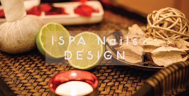 Thiết kế thương hiệu ISPA Nails