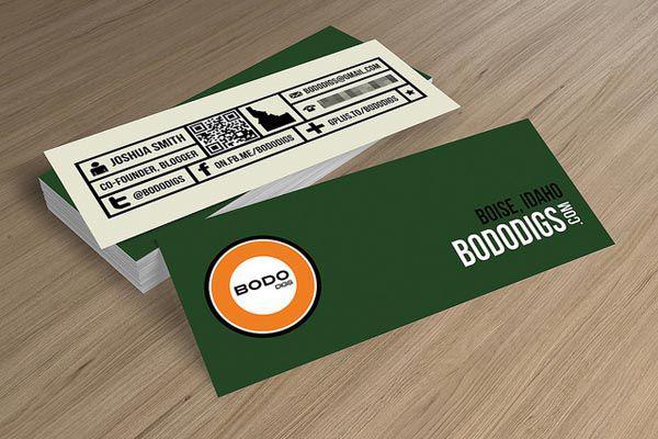 Thiết kế mini card ấn tượng với phong cách mới lạ