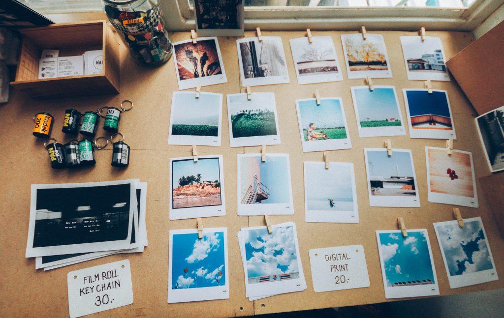 Lựa chọn cho mình những tấm hình đẹp nhất trước khi bắt đầu thiết kế