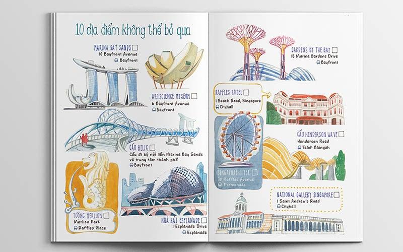 Ý tưởng làm photobook du lịch bằng hình vẽ cực kỳ độc đáo bởi KAA Studio