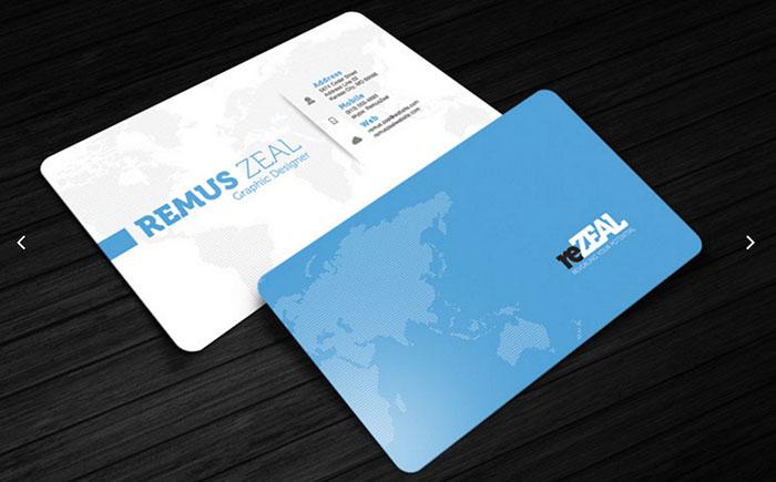 Mẫu name card giấy nhựa - nhựa novaz