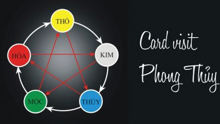 Màu sắc card visit phong thủy theo ngành nghề ở TPHCM