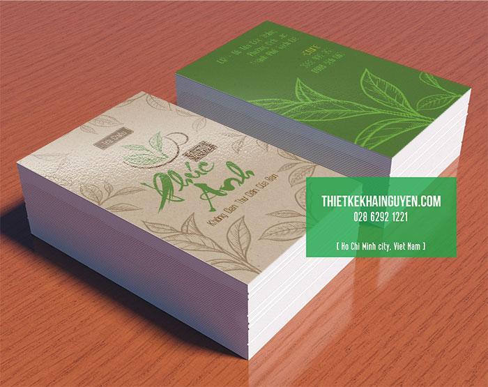 Card visit Phúc Anh Quán