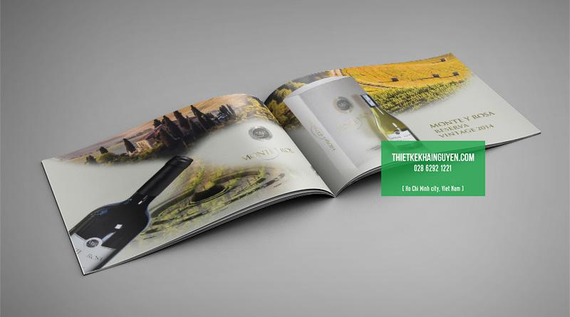 Thiết kế catalogue rượi đẹp