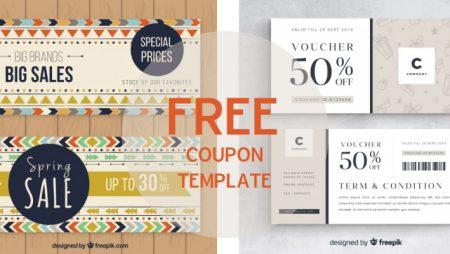 10 mẫu coupon voucher miễn phí đẹp cho tháng 11