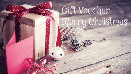Mẫu thiết kế voucher giáng sinh(noel, merry christmas) 2019