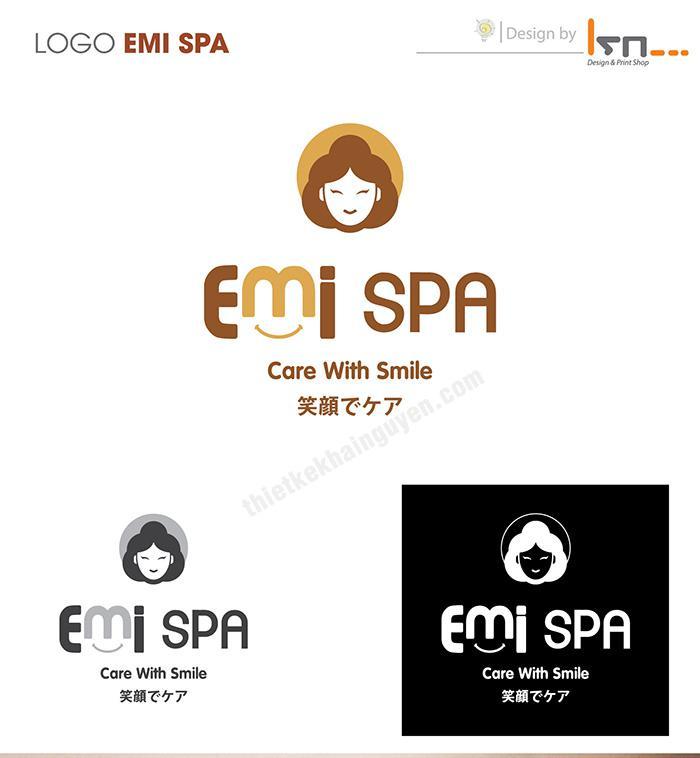 Thiết kế logo spa - Emi