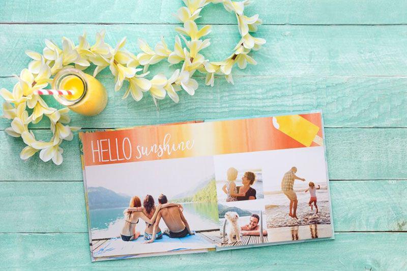 Mẫu photobook mở phẳng siêu đẹp