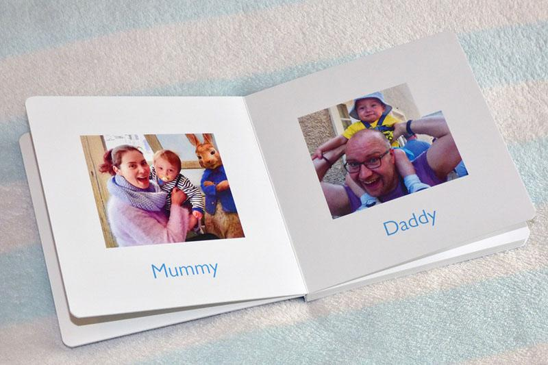 Mẫu photobook gia đình mở phẳng