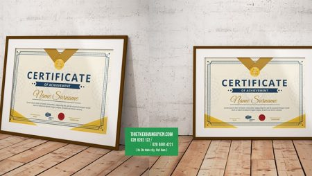 9 mẫu giấy khen đẹp cho sự kiện khen thưởng cuối năm