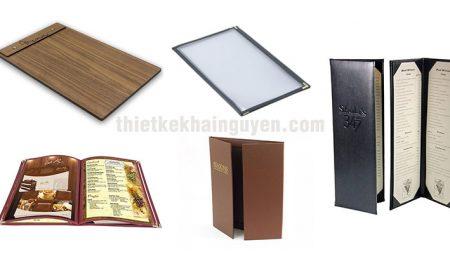 Tổng hợp các mẫu menu cover sang trọng đơn giản