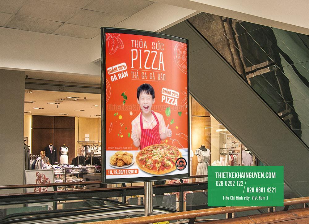 Thiết kế poster, standee quảng cáo chuẩn đẹp