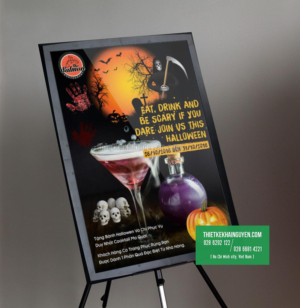 Giới thiệu: Mẫu thiết kế poster Hallowen