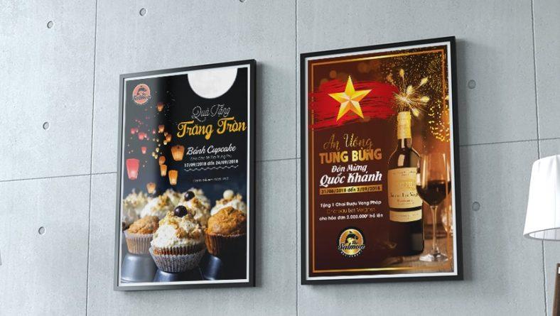 Thiết kế poster ngày lễ - poster quảng cáo
