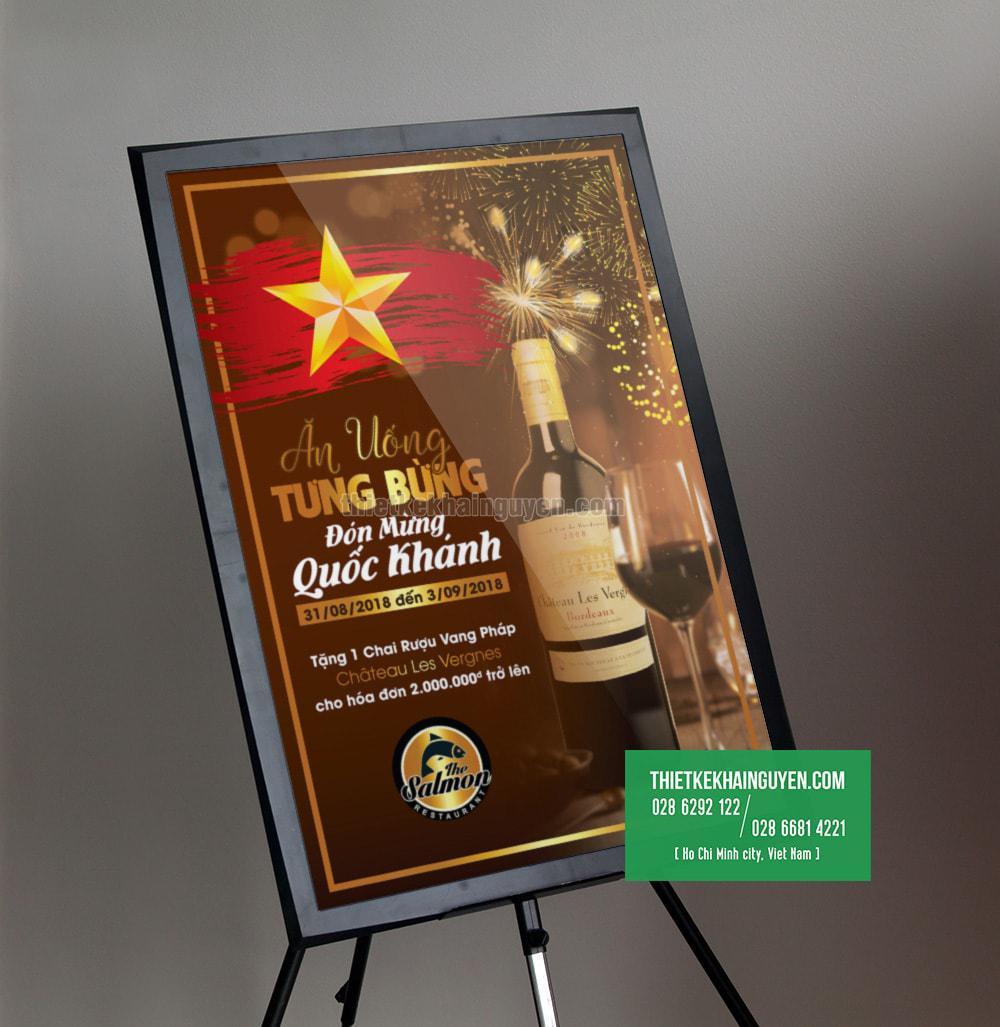 Thiết kế poster lễ Quốc Khánh , 2 tháng 9