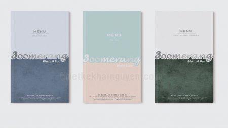 Làm thế nào để bố cục thiết kế menu hiệu quả mà vẫn đẹp?