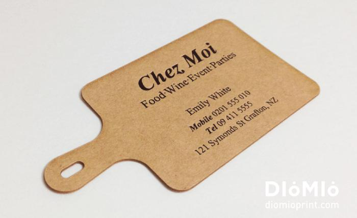 Business Cards For Chefs