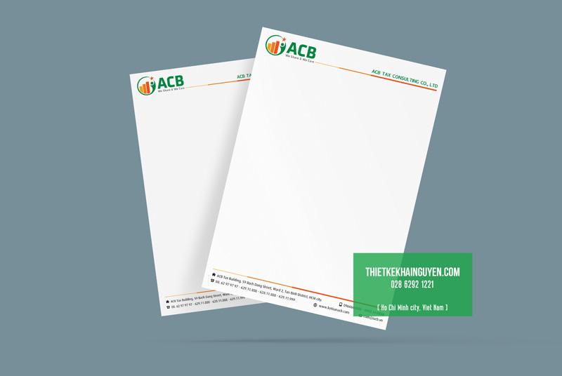 Làm giấy tiêu đề chuyên nghiệp để nâng cao uy tín công ty
