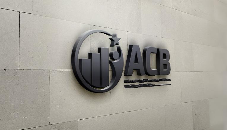 Mẫu thiết kế logo công ty tư vấn thuế ACB