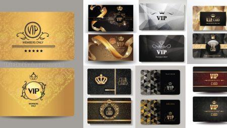 Mẫu thẻ vip – member card – vip card đẹp & ấn tượng