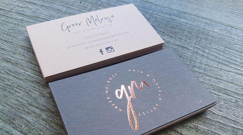 Name card ép kim đẹp trên giấy mỹ thuật