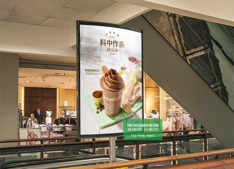Poster quán cafe đẹp xuất sắc