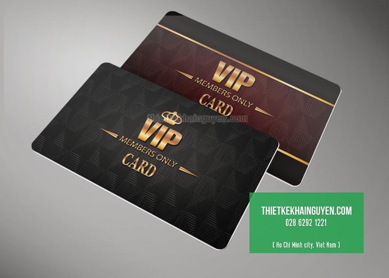 Mẫu thiết kế thẻ Vip card đẹp