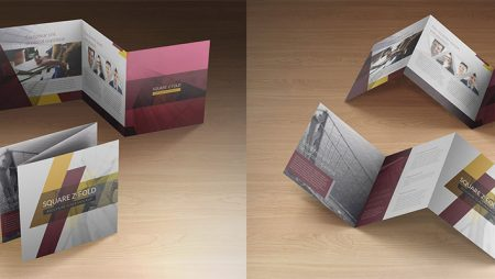 Tổng hợp các kiểu gấp brochure trong thiết kế & in ấn brochure