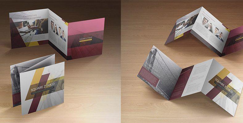 Các kiểu gấp brochure phổ biến khi in ấn