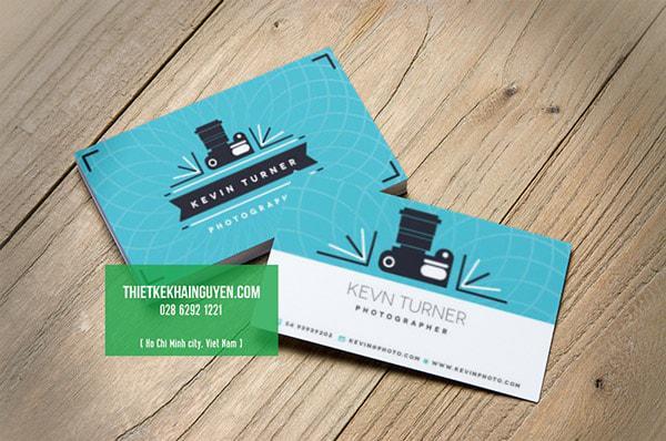 Một mẫu thiết kế name card dễ thương cho photographer