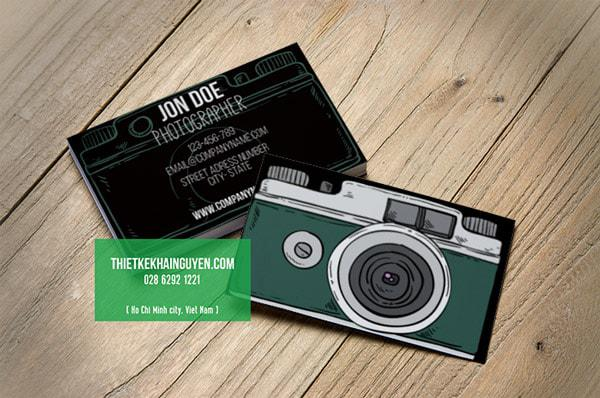 Ý tưởng thiết kế name card camera