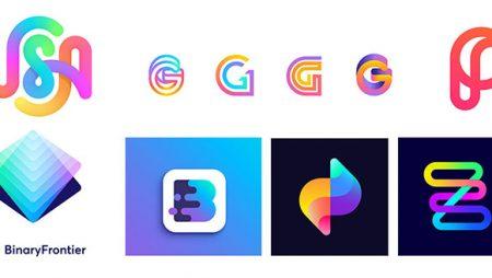 9 ý tưởng thiết kế logo Gradient màu sáng tạo