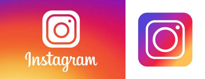 Thiết kế logo Instagram theo phương pháp Gradient