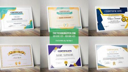 10 mẫu bằng khen tết – giấy khen thưởng dịp tết đẹp