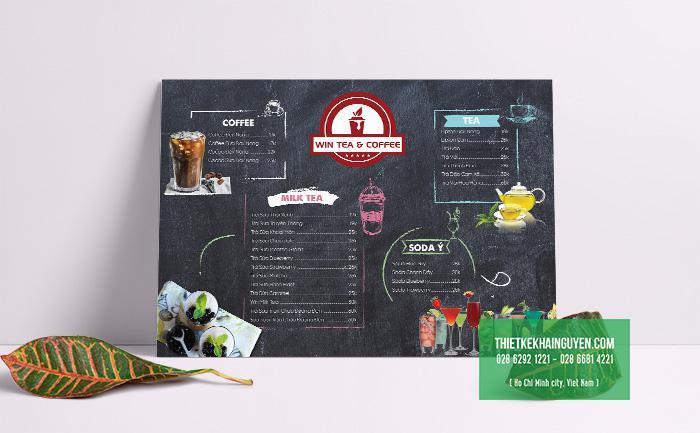 Tạo ấn tượng tuyệt với phong cách thiết kế menu vintage