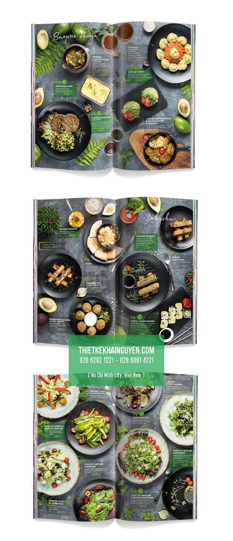 Thiết kế menu đẹp & sang trọng cho nhà hàng