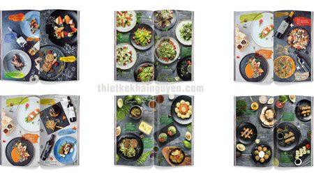 3 mẫu thực đơn đẹp cho nhà hàng – sang trọng và đặc sắc