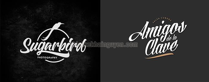 Lettering logo - đơn giản nhưng hiệu quả