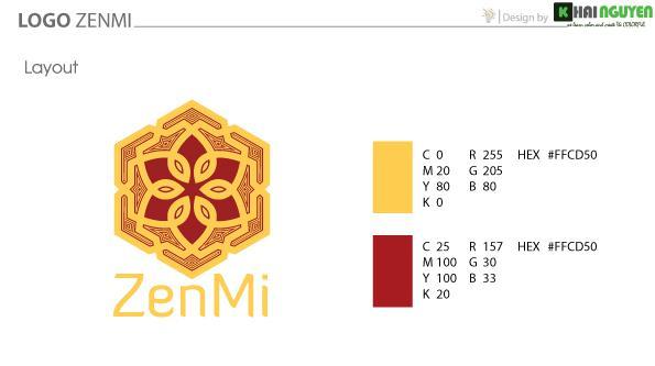 Thiết kế logo phong thủy - logo ZENMI
