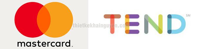 Overlapping Gradient logo design