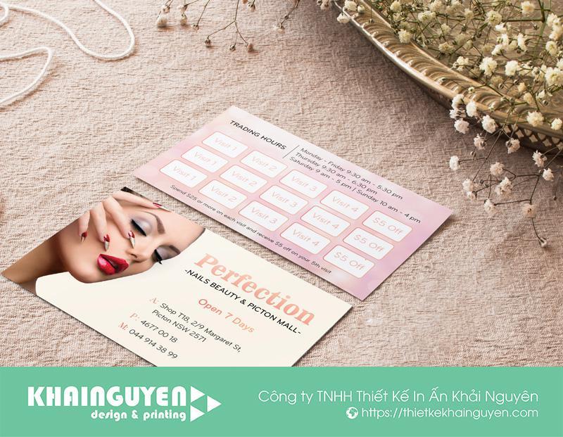 Thẻ tích điểm kết hợp làm name card
