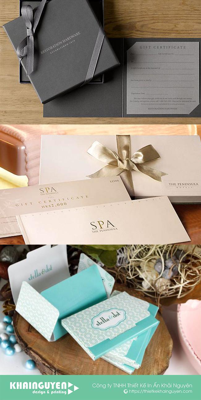 Tập hợp cách làm voucher dạng hộp đặc biệt