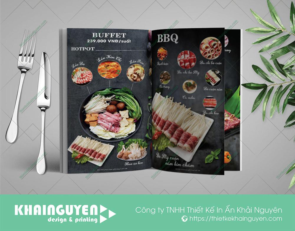 Thực đơn nhà hàng Nhật Sushi Koshu Buffet
