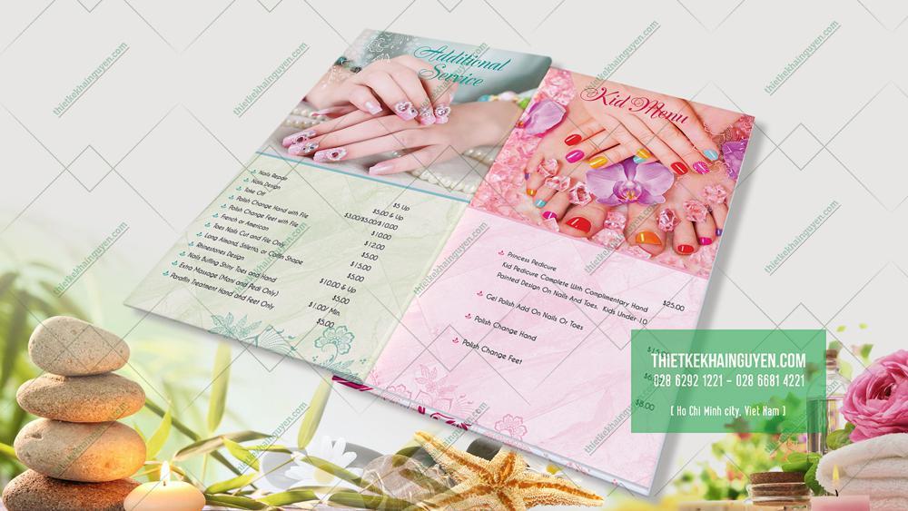 Wnails - cuốn menu thành công với rất nhiều sắc