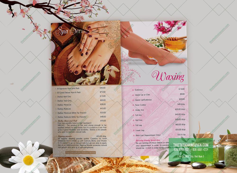 Hình ảnh đẹp giúp menu nails thu hút khách hàng hơn